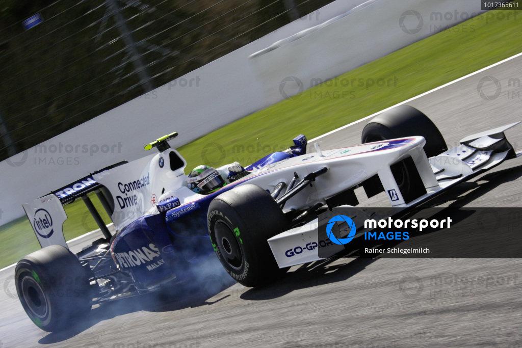 Nick Heidfeld, BMW Sauber F1.09.