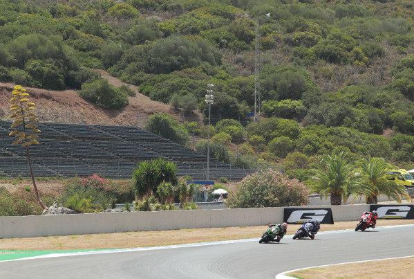 Jonathan Rea, Kawasaki Racing Team leads.