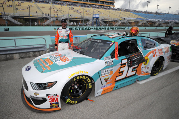 Corey LaJoie, GO FAS Racing Ford Storm Tight Windows, Copyright: Chris Graythen/Getty Images.