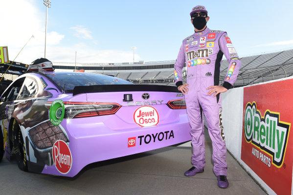 Kyle Busch, Joe Gibbs Racing Toyota M&M's Fudge Brownie, Copyright: Jared C. Tilton/Getty Images.