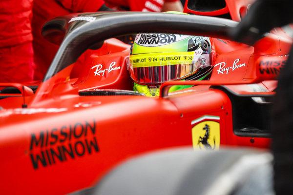 Mick Schumacher, Ferrari SF90