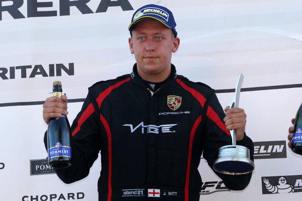 2015 Porsche Carrera Cup, Snetterton, Norfolk. 8th-9th August 2015, Jordan Witt (GBR) Redline Racing Porsche Carrera Cup  World copyright.Jakob Ebrey/LAT Photographic