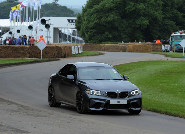 2016 Goodwood Festival of Speed Goodwood Estate, West Sussex,England 23rd - 26th June 2016 Moving Motor Show BMW M2 World Copyright : Jeff Bloxham/LAT Photographic Ref : Digital Image