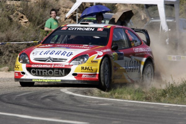 2006 FIA World Rally Champs. Round four Rally Catalunya Spain. 24-26th March 2006Daniel Sordo, Citroen, action.World Copyright: Mcklein/LAT