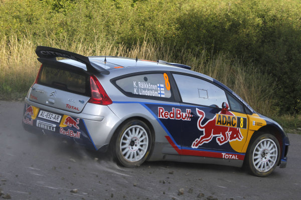 Round 09Rallye Deutschland 19-22/8 2010Kimi Raikkonen, Citroen WRC, ActionWorldwide Copyright: McKlein/LAT
