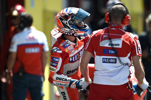 2017 MotoGP Championship - Round 6 Mugello, Italy Friday 2 June 2017 Andrea Dovizioso, Ducati Team World Copyright: Gold & Goose Photography/LAT Images ref: Digital Image 673772