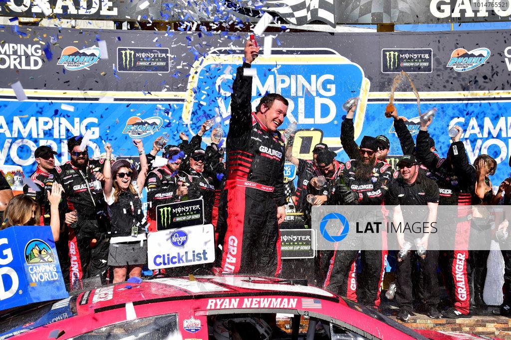 2017 Monster Energy NASCAR Cup Series Camping World 500 Phoenix International Raceway, Avondale, AZ USA Sunday 19 March 2017 Ryan Newman wins World Copyright: Rusty Jarrett/LAT Images ref: Digital Image 17PHX1rj_3143