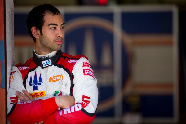 Circuit de Barcelona Catalunya, Barcelona, Spain. Wednesday 15 March 2017. Nabil Jeffri, (MAS, Trident). Portrait.  Photo: Alastair Staley/FIA Formula 2 ref: Digital Image 585A0050