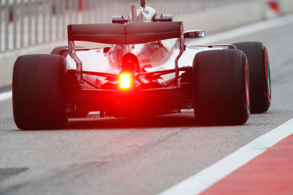 Bahrain International Circuit, Sakhir, Bahrain.  Wednesday 19 April 2017. Valtteri Bottas, Mercedes F1 W08 EQ Power+.  World Copyright: Glenn Dunbar/LAT Images ref: Digital Image _X4I4737