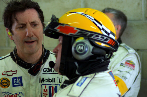 2004 Le Mans Pre-Qualifying,La Sarthe, France. 23rd - 25th April.Ron Fellows (Corvette C5-R). Portrait.World Copyright: Brooks/LAT Photographicref: Digital Image only