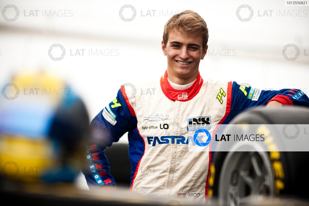 Round 5. Nurburgring, Germany. 21st July 2011.Thursday Preview. Nico Muller, (SUI, Jenzer Motorsport) winner of race 7 at round 4 in Silverstone. Portrait. Photo: Drew Gibson/GP3 Media Service.  ref: Digital Image _Y2Z3791
