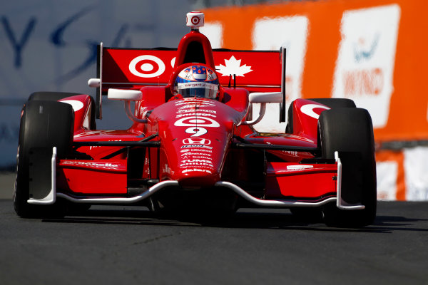14 July, 2013,  Toronto, Ontario, CAN Scott Dixon ©2013, Phillip Abbott LAT Photo USA