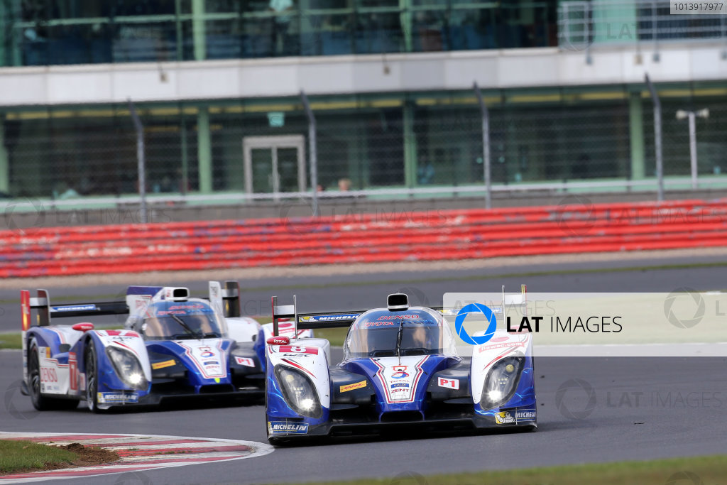 2013 FIA WEC Championship, Silverstone, Northamptonshire. 12th - 14th April 2013. Anthony Davidson / Sebastien Buemi / Stephane Sarrazin Toyota Racing TS030 World Copyright: Ebrey / LAT Photographic.