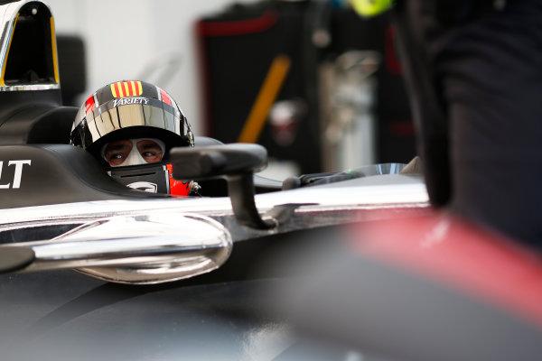 Practice Session 1. Oriol Servia (SPA)/Dragon Racing - Spark-Renault SRT_01E  FIA Formula E World Championship. Buenos Aires, Argentina, South America. Saturday 10 January 2015.  Copyright: Adam Warner / LAT / FE ref: Digital Image _L5R6466