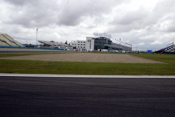 General view of new track changes.