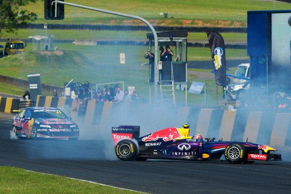 Mark Webber (AUS) Red Bull Racing. Top Gear Festival, Sydney Motorsport Park, Sydney, Australia, 9-10 March 2013.