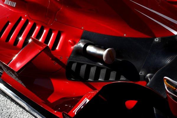 2007 Turkish Grand Prix - ThursdayIstanbul Motor Park, Istanbul, Turkey.23rd August 2007.Ferrari F2007 bodywork detail.World Copyright: Andrew Ferraro/LAT Photographicref: Digital Image _H0Y3669