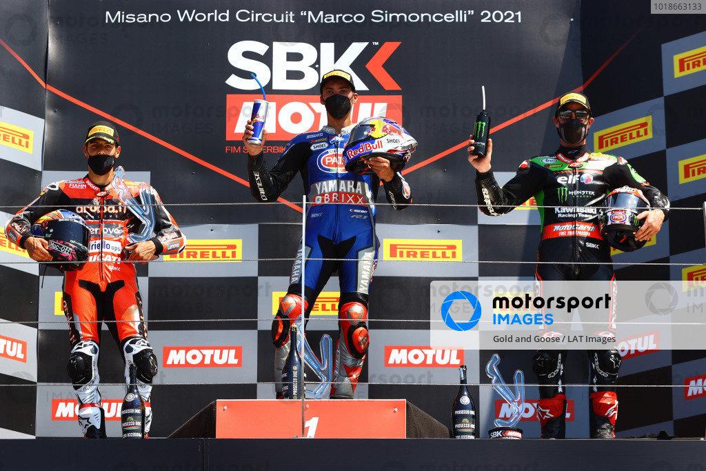 Michael Ruben Rinaldi, Aruba.It Racing - Ducati, Toprak Razgatlioglu, PATA Yamaha WorldSBK Team, Jonathan Rea, Kawasaki Racing Team WorldSBK.