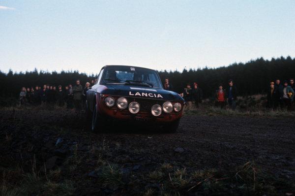 Simo Lampinen / John Davenport, Lancia Fulvia coupe.