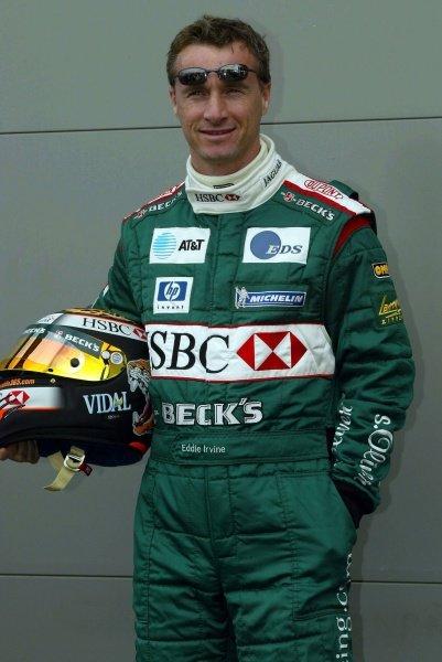 Eddie Irvine (GBR) Jaguar.Australian Grand Prix, Albert Park, Melbourne, 28 February 2002DIGITAL IMAGE