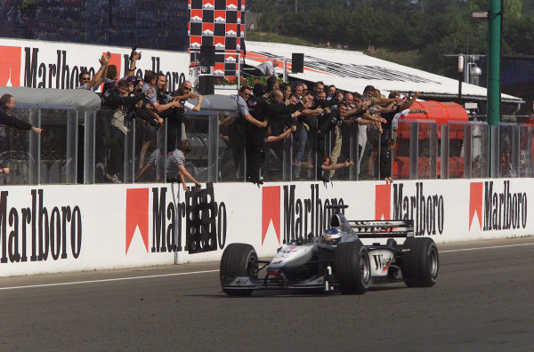 Winners at the Hungaroring since the 1980s
