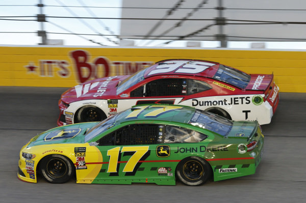 #17: Ricky Stenhouse Jr., Roush Fenway Racing, Ford Fusion John Deere