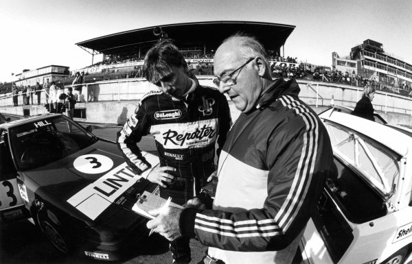 Murray Walker 1986