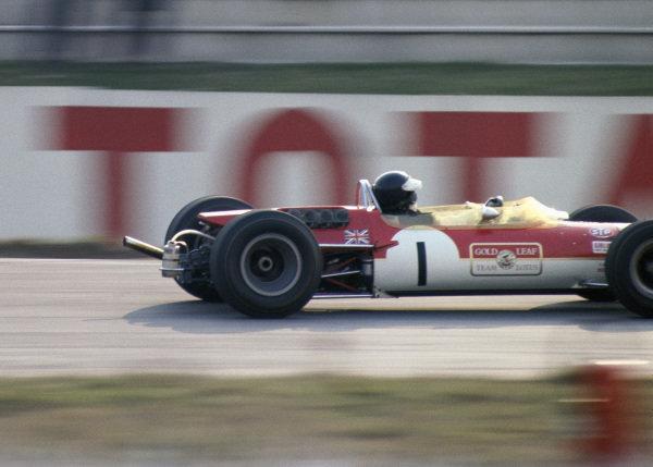 Jim Clark, Gold Leaf Team Lotus, Lotus 48 Cosworth.