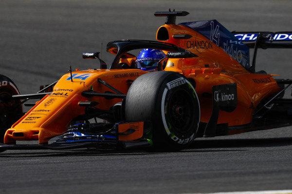 Fernando Alonso, McLaren MCL33.