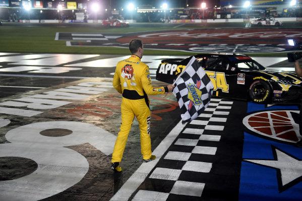 Race winner Kyle Busch, Joe Gibbs Racing Toyota App State Class of 2020, Copyright: Jared C. Tilton/Getty Images.
