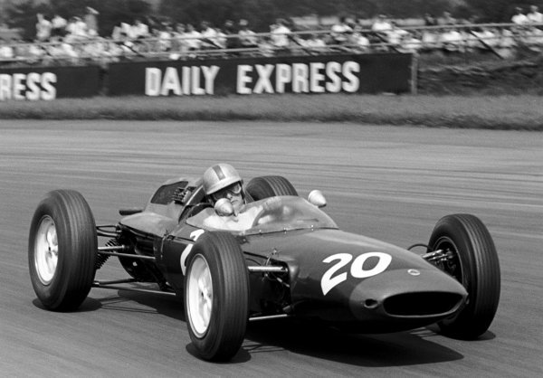 Legendary motorcycle rider Mike Hailwood (GBR) Lotus 24 finished eighth on his Grand Prix debut.