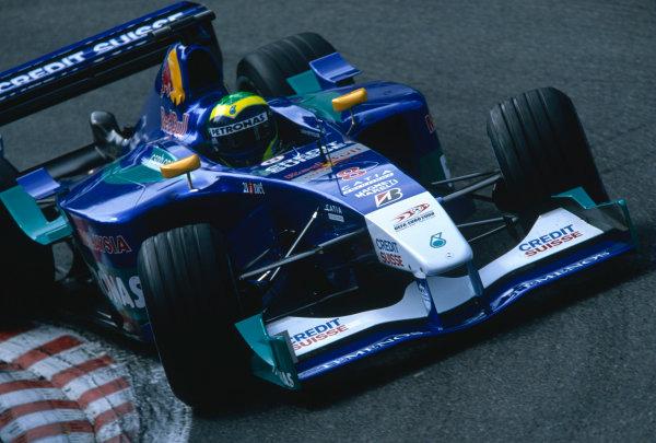 2002 Belgian Grand Prix.Spa-Francorchamps, Belgium. 30/8-1/9 2002.Felipe Massa (Sauber C21 Petronas).Ref-02 BEL 43.World Copyright - Steven Tee/LAT Photographic