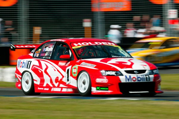 2003 Australian V8 Supercars MelbourneVictoria,Australia 9th March 2003Holden driver Mark Skaife in action in the new VY Commodore during the V8 Supercars at the 2003 Australian GP.World Copyright: Mark Horsburgh/LATPhotographic ref: Digital Image Only