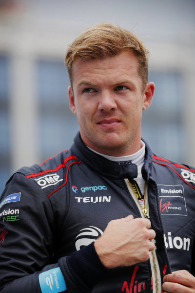 Pole man Nick Cassidy (NZL), Envision Virgin Racing
