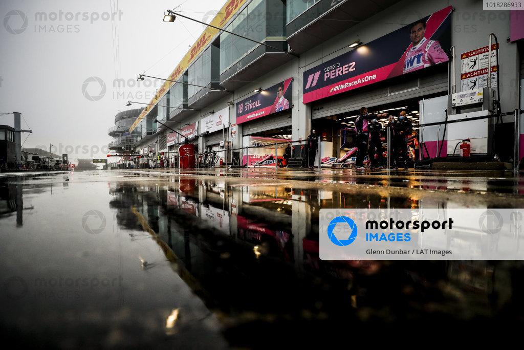 Racing Point garage