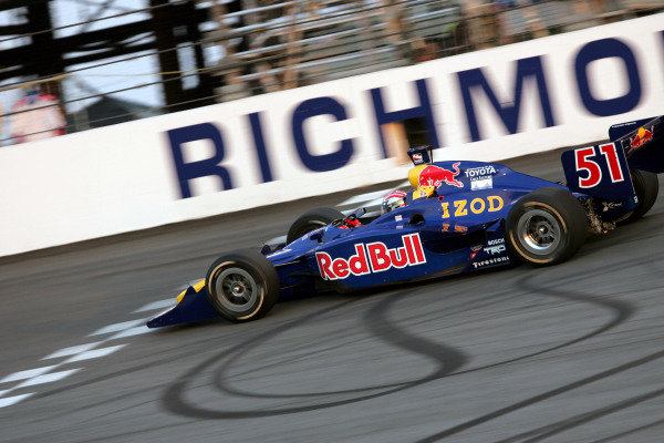 Alex Barron (USA), Red Bull Cheever Racing Dallara Toyota, finished sixth in the Suntrust Indy 300. IRL IndyCar Series, Rd7, Suntrust Indy 300, Richmond International Raceway, Richmond, Virginia, USA. 24-25 June 2005. DIGITAL IMAGE