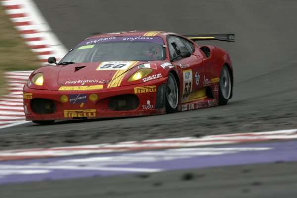 2006 FIA GT Championship.Spa - Francorchamps, France. 29th - 30th July.24 HoursBobbi/Melo/Ortelli, (fFerrari 430 GT2). Action.World Copyright: Alastair Staley/LAT Photographic ref: Digital Image _F6E8982