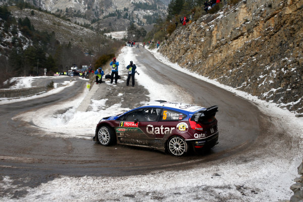 2013 World Rally Championship Monte Carlo Rally 15th - 20th January 2013 Evgeny Novikov, Ford, action Worldwide Copyright: McKlein/LAT