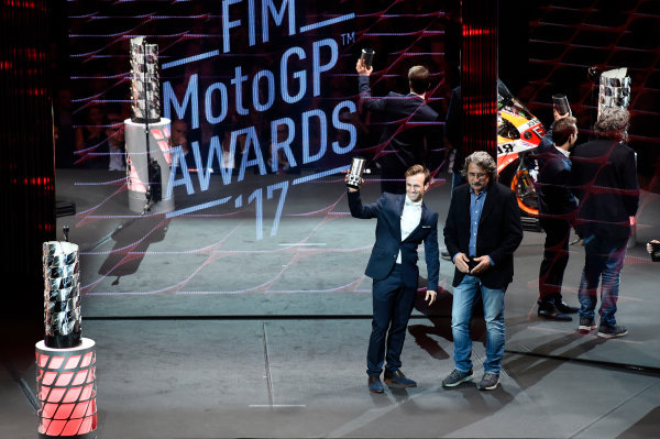 2017 MotoGP Championship - Round 18 Valencia, Spain  Sunday 12 November 2017 Johann Zarco, Monster Yamaha Tech 3  World Copyright: Gold and Goose Photography/LAT Images  ref: Digital Image 706759