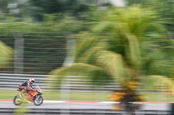 2017 Moto3 Championship - Round 17 Sepang, Malaysia. Friday 27 October 2017 Bo Bendsneyder, Red Bull KTM Ajo World Copyright: Gold and Goose / LAT Images ref: Digital Image 25053