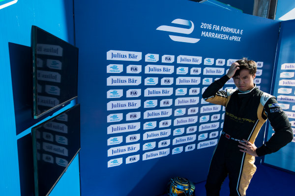 2016/2017 FIA Formula E Championship. Marrakesh ePrix, Circuit International Automobile Moulay El Hassan, Marrakesh, Morocco. Ma Qing Hau (CHN), Techeetah, Spark-Renault, Renault Z.E 16.  Saturday 12 November 2016. Photo: Sam Bloxham/LAT/Formula E ref: Digital Image _SLA7824
