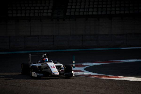 2016 GP3 Series Test 5. Yas Marina Circuit, Abu Dhabi, United Arab Emirates. Friday 2 December 2016. Tarun Reddy (IND, Koiranen GP)  Photo: Sam Bloxham/GP3 Series Media Service. ref: Digital Image File037