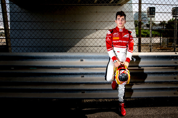 2016 GP3 Series Round 9.  Yas Marina Circuit, Abu Dhabi, United Arab Emirates. Sunday 27 November 2016. Charles Leclerc (FRA, ART Grand Prix)  Photo: Zak Mauger/GP3 Series Media Service. ref: Digital Image _X0W7483