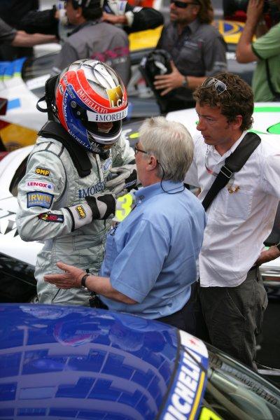 2006 Monaco Grand Prix - Porsche SupercupMonte Carlo, Monaco. 23rd - 28th May.Richard Westbrook and Charlie Whiting chat in Parc Ferme.World Copyright: Lorenzo Bellanca/LAT Photographicref: Digital Image ZD2J1211