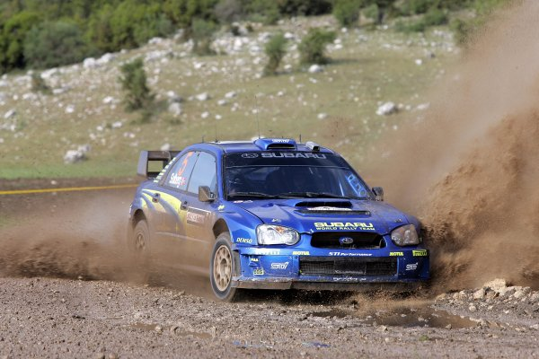 2005 FIA World Rally Champs. Round seven