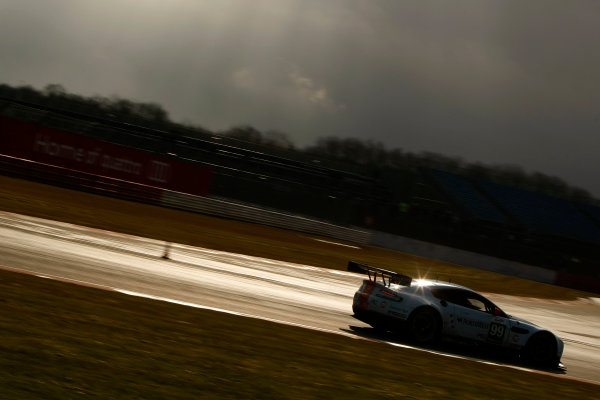2013 FIA WEC Championship, Silverstone, Northamptonshire. 12th - 14th April 2013. Paul Dalla Anna / Frederic Makowiecki / Pedro Lamy Aston Martin Racing Aston Martin Vantage V8. World Copyright: Ebrey / LAT Photographic.
