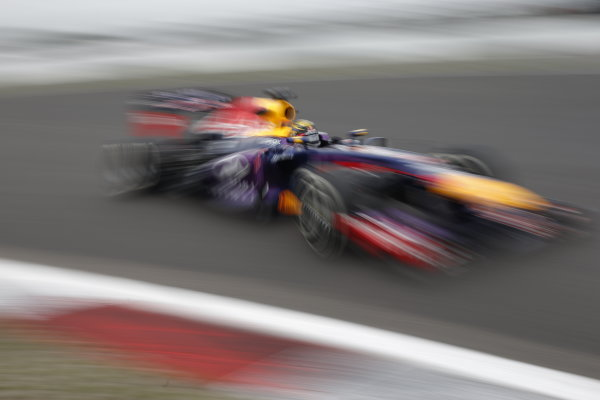 Nurburgring, Germany 5th July 2013 Sebastian Vettel, Red Bull RB9 Renault World Copyright: Glenn Dunbar/  ref: Digital Image _89P6136