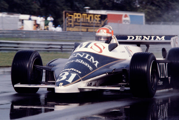 1980 Canadian Grand Prix.Montreal, Quebec, Canada.26-28 September 1980.Eddie Cheever (Osella FA1B Ford).Ref-80 CAN 34.World Copyright - LAT Photographic