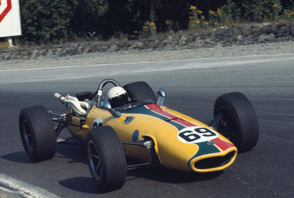 1969 Canadian Grand Prix.Mosport Park, Ontario, Canada.18-20 September 1969.Al Pease (John Maryon/Eagle TG101 Climax).Ref-69 CAN 07.World Copyright - LAT Photographic