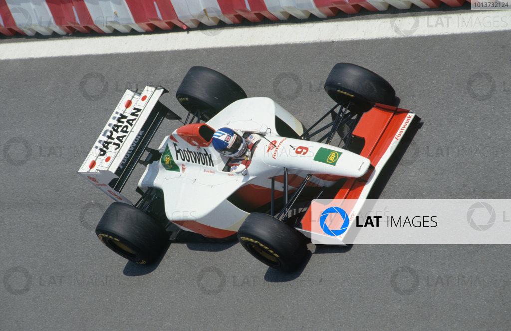 1993 Spanish Grand Prix.